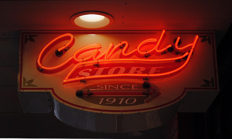 Fair Photograph - Candy by Skip Willits