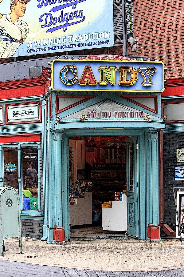 Candy Store Cartoon Photograph