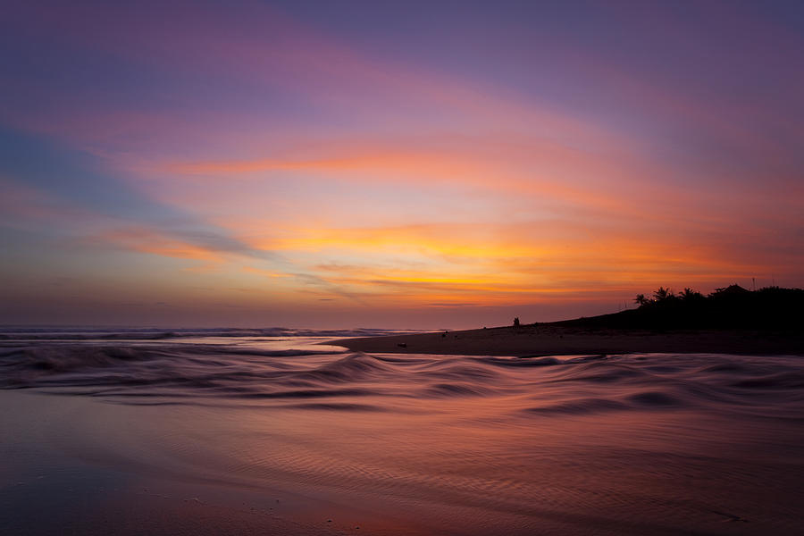 Canngu Beach Sunset Photograph