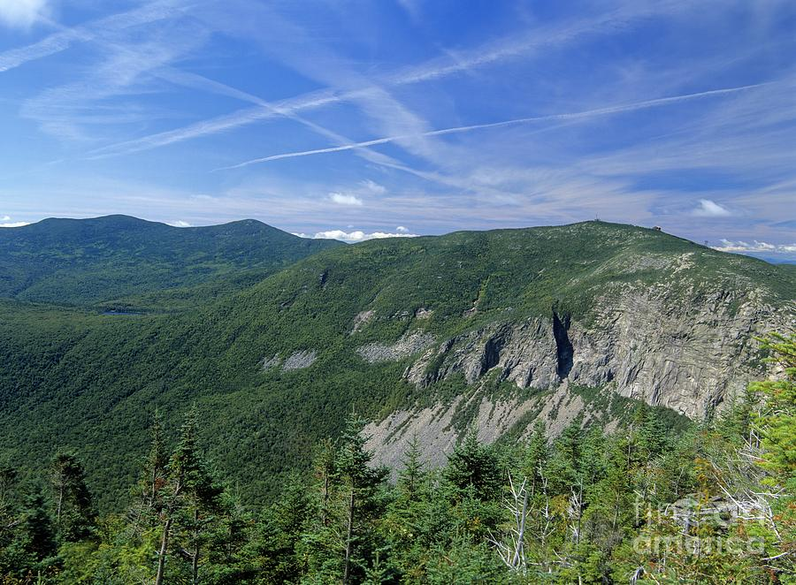 Cannon Mountain - White Mountains New Hampshire Usa Photograph  - Cannon Mountain - White Mountains New Hampshire Usa Fine Art Print
