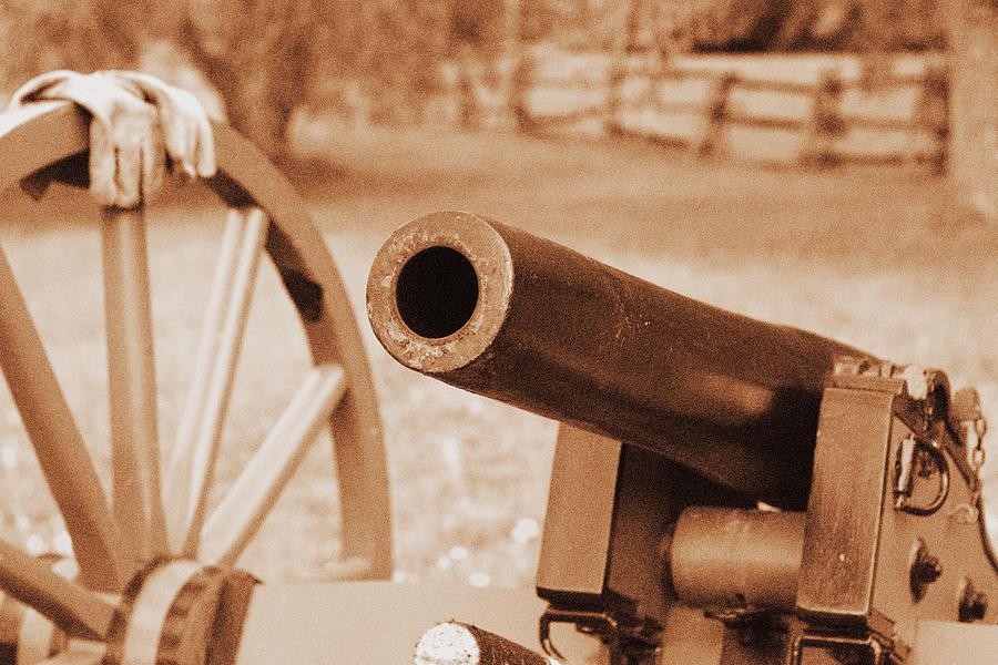 Artillery Photograph - Cannon Ready by Jonathan Bateman
