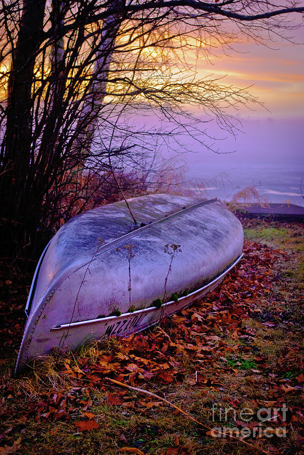 Canoe At Rest Photograph