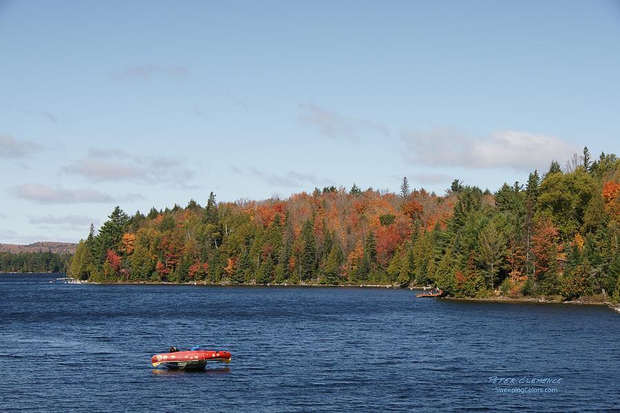Canoe Ride Photograph