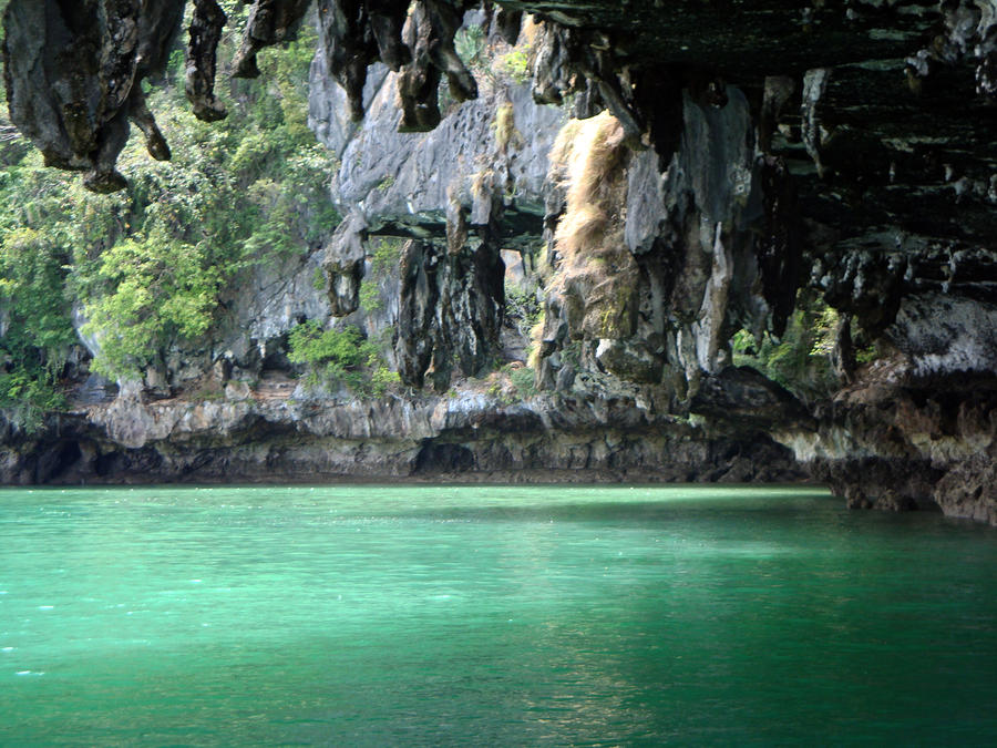 Canoeing In Thailand Photograph