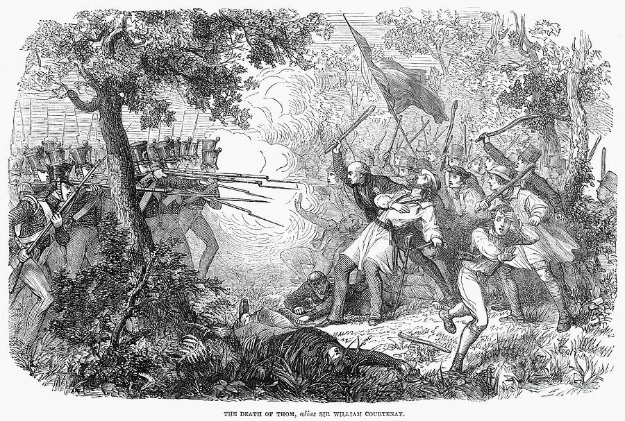 Canterbury Riot, 1838 Photograph