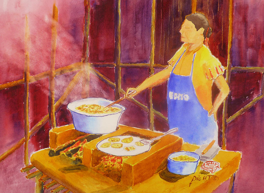 Cantina Kitchen Painting