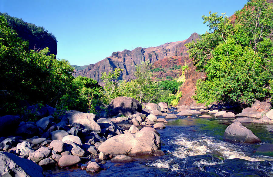 Canyon River  Photograph