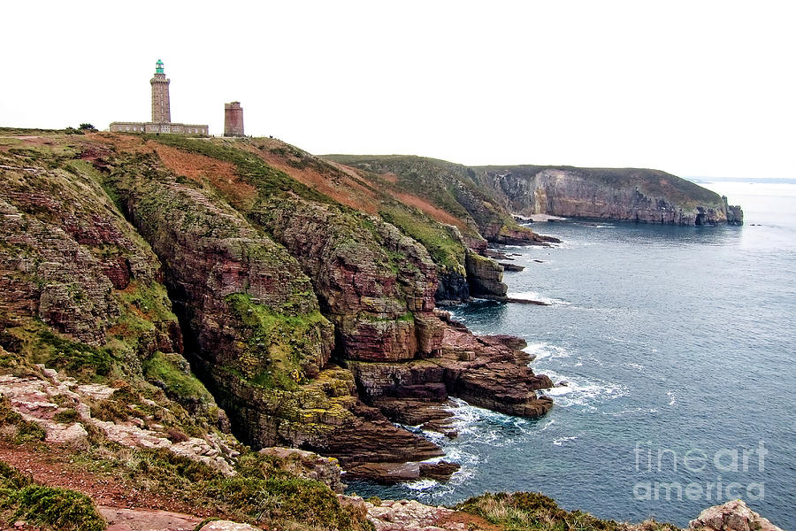 Cap Frehel In Brittany France Photograph  - Cap Frehel In Brittany France Fine Art Print