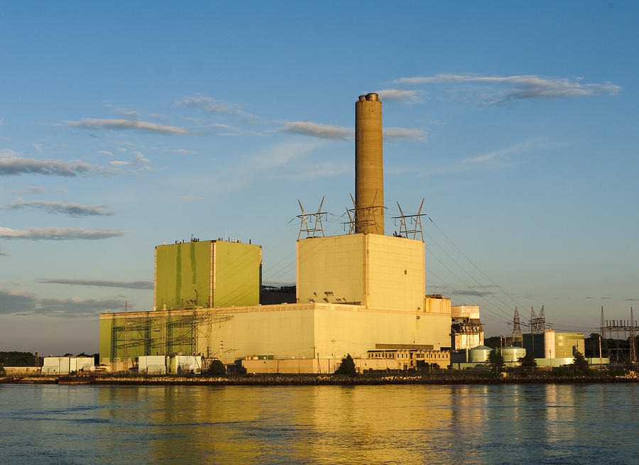 Cape Cod Canal Power Plant Frank Winters Cpower Photograph By