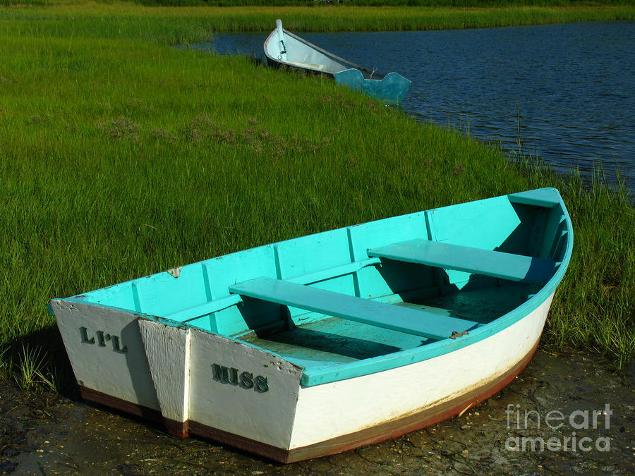 Cape Cod Dinghies Photograph  - Cape Cod Dinghies Fine Art Print
