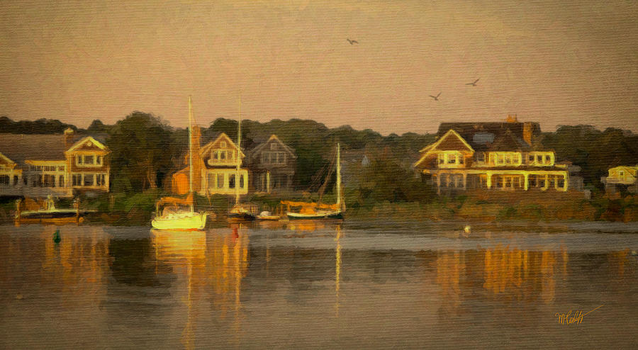 Cape Cod Evening Mixed Media  - Cape Cod Evening Fine Art Print