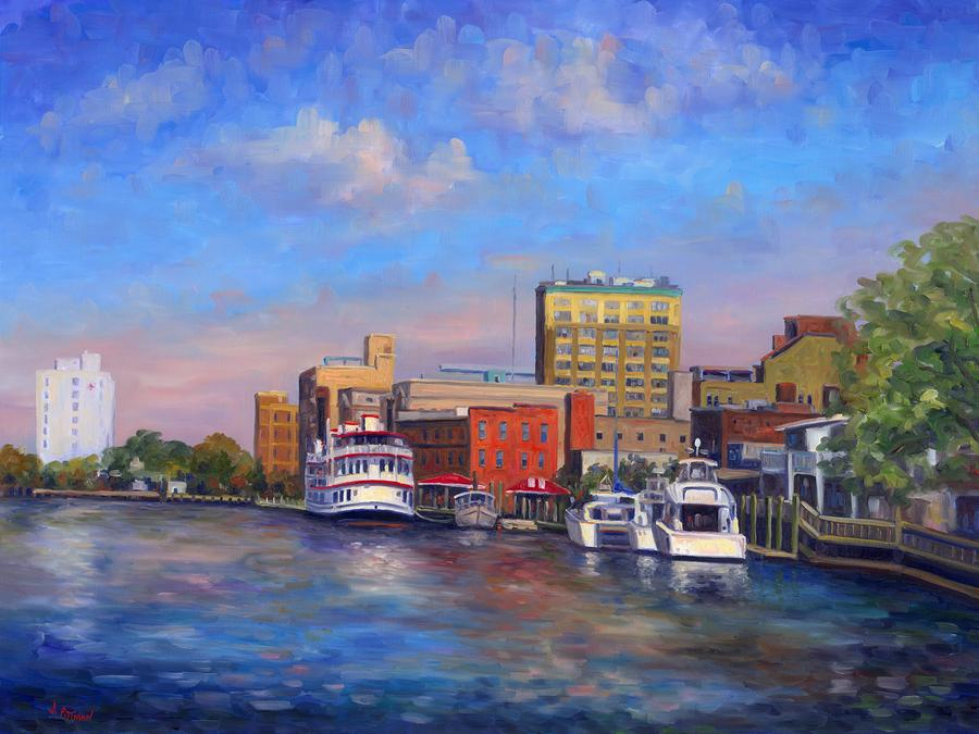 Cape Fear Afternoon Painting  - Cape Fear Afternoon Fine Art Print