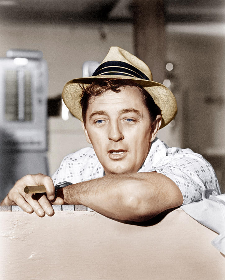 Cape Fear, Robert Mitchum, 1962 Photograph