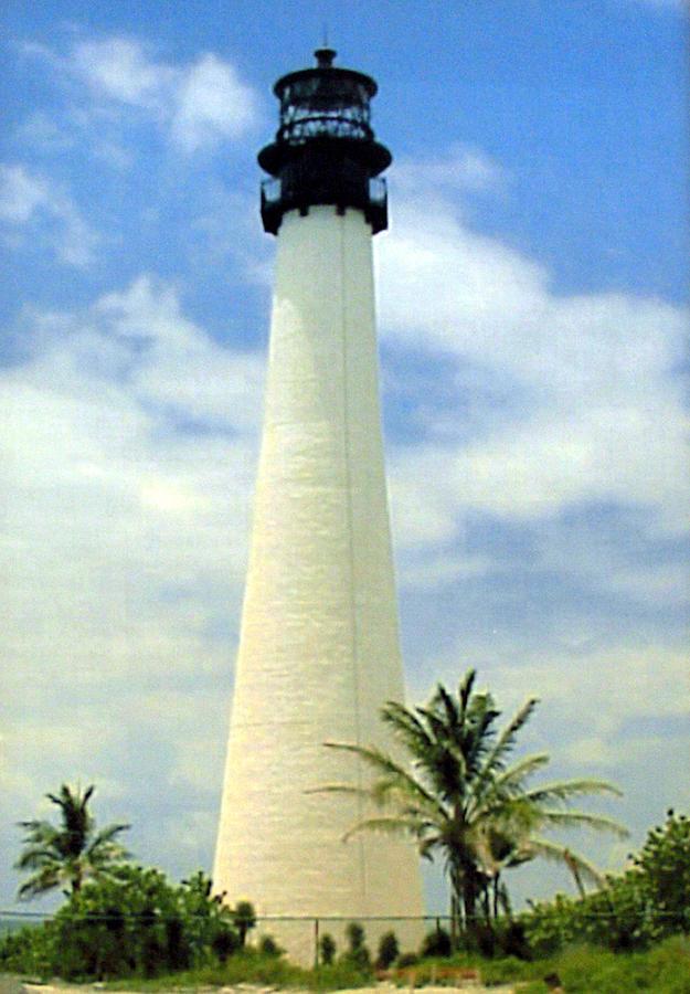 Cape Florida Lighthouse Photograph