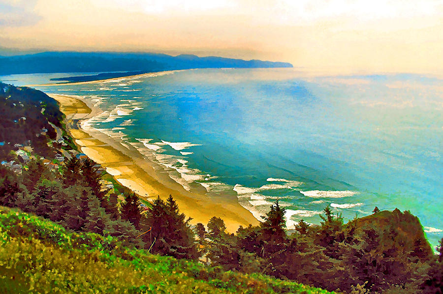 Cape Lookout From Oceanside Photograph
