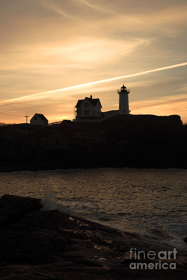 Cape Neddick Light - York  Maine Photograph  - Cape Neddick Light - York  Maine Fine Art Print