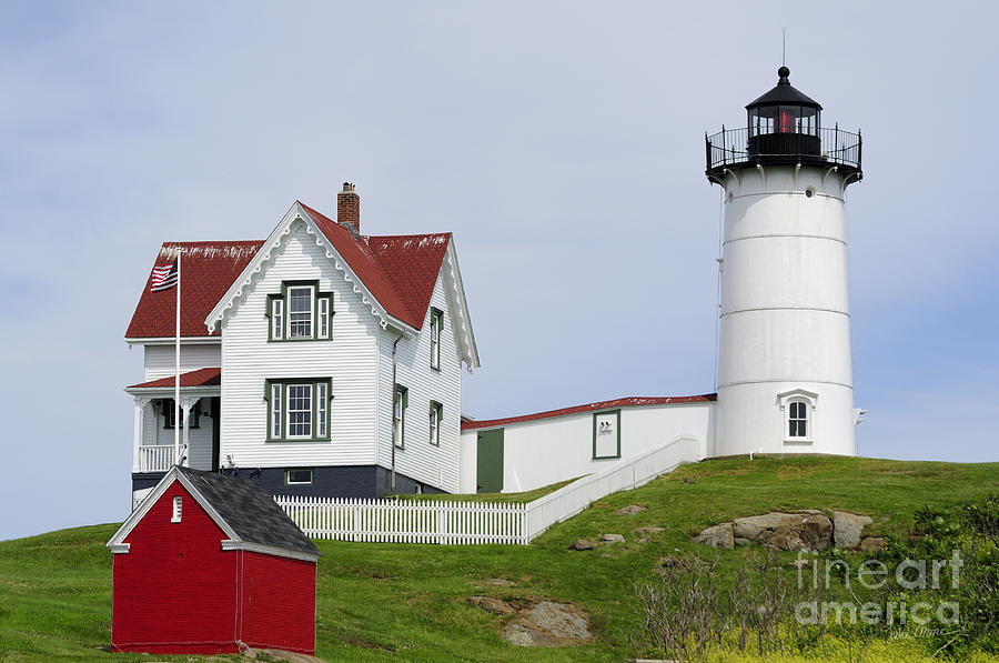 Cape Neddick Light Photograph