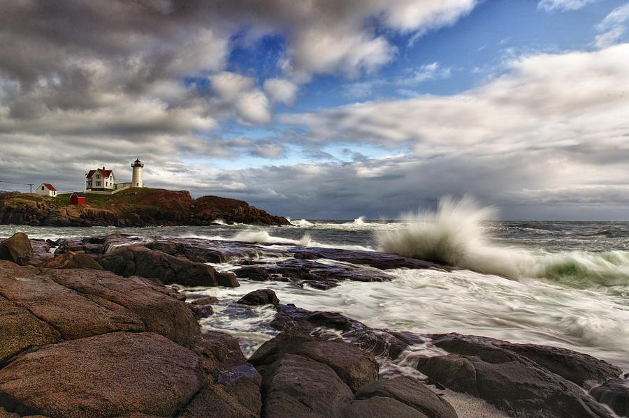 Cape Neddick Maine Photograph
