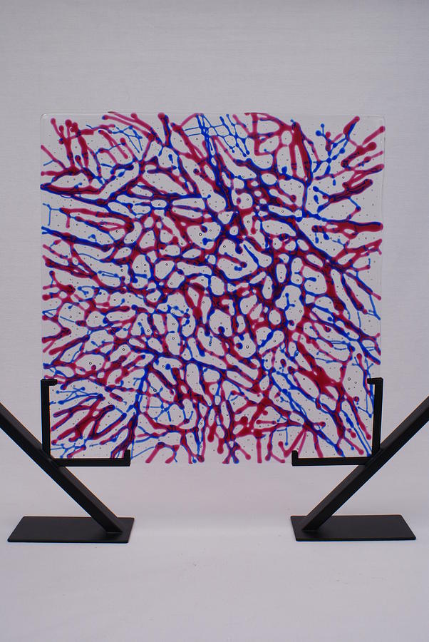 Capillaries Glass Art  - Capillaries Fine Art Print