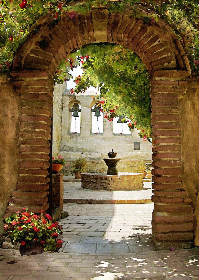 Capistrano Gate Photograph