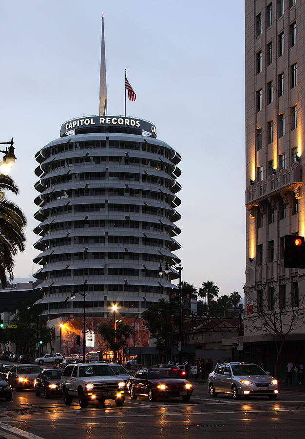 Capitol Records Photograph