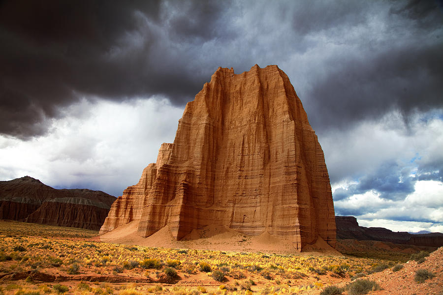 Capitol Reef National Park Cathedral Valley Photograph By