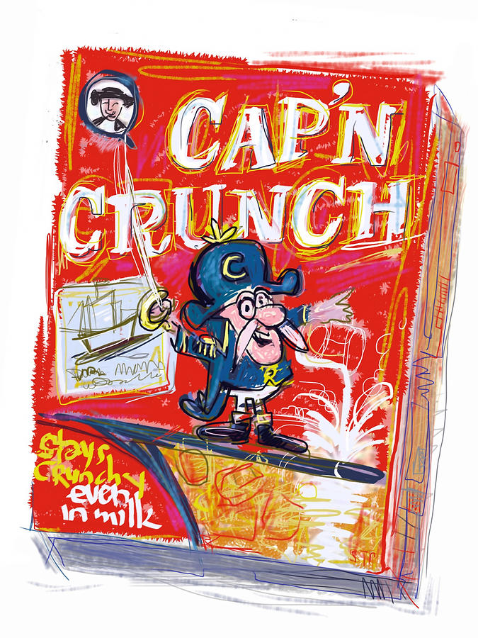 Capn Crunch Mixed Media
