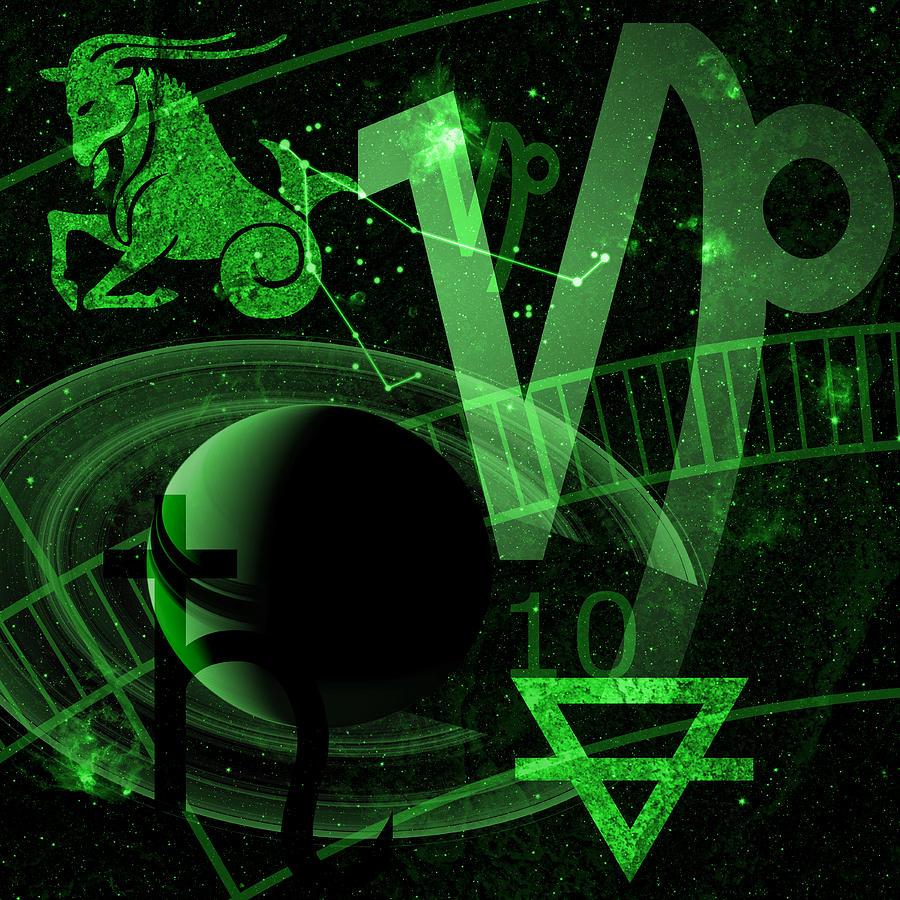 Capricorn Digital Art