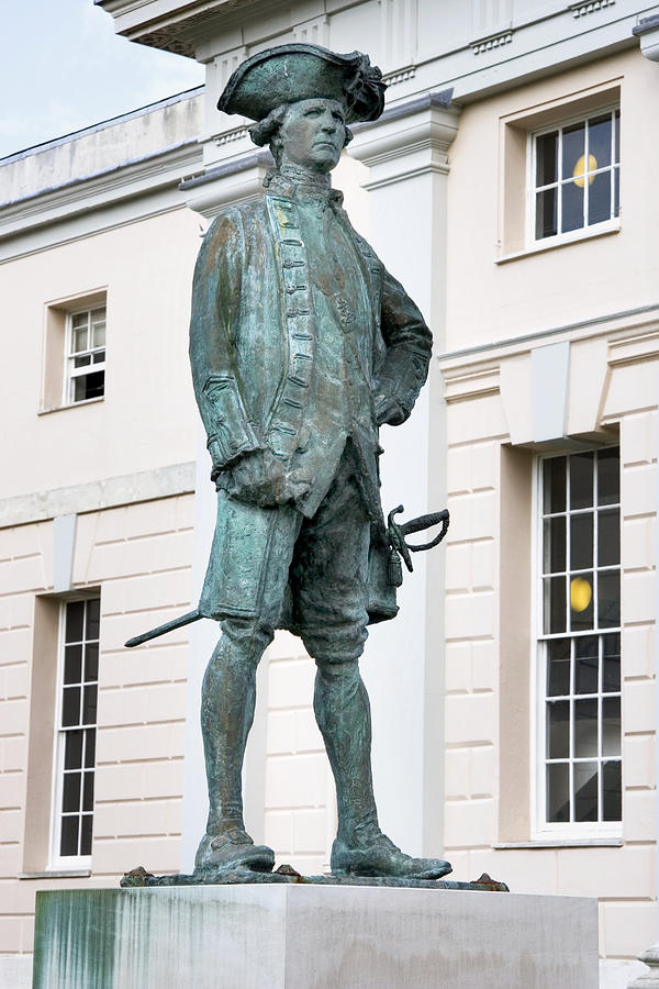 Captain James Cook, British Explorer Photograph  - Captain James Cook, British Explorer Fine Art Print