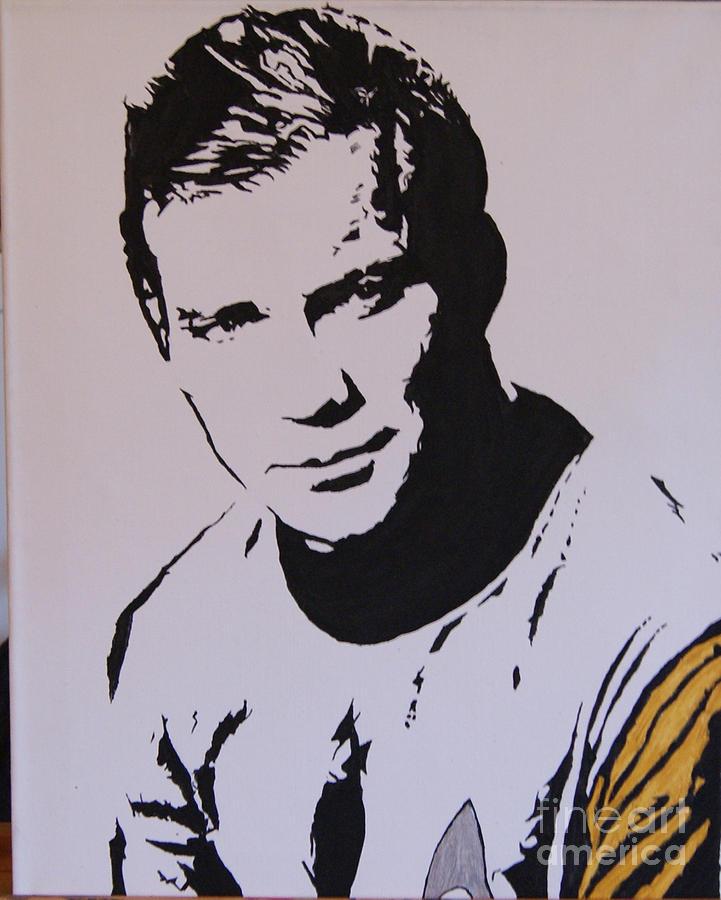 New Art Painting - Captain Kirk by Robert Epp
