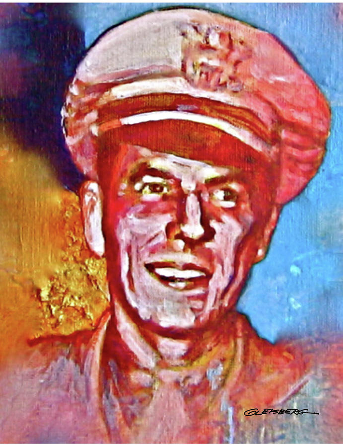 Captain Ronald Reagan Painting