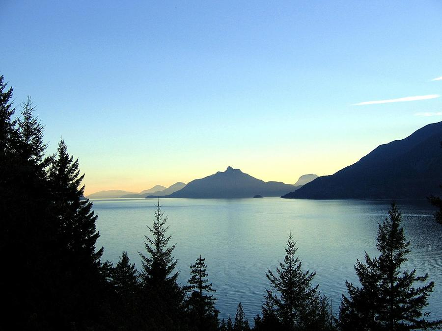 Captivating Howe Sound Photograph  - Captivating Howe Sound Fine Art Print