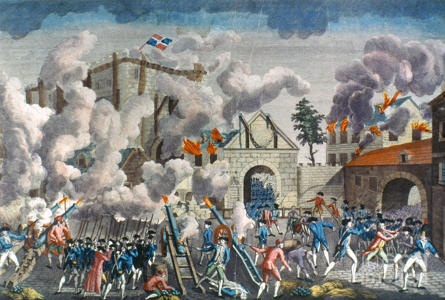 Capture Of Bastille, 1789 Photograph
