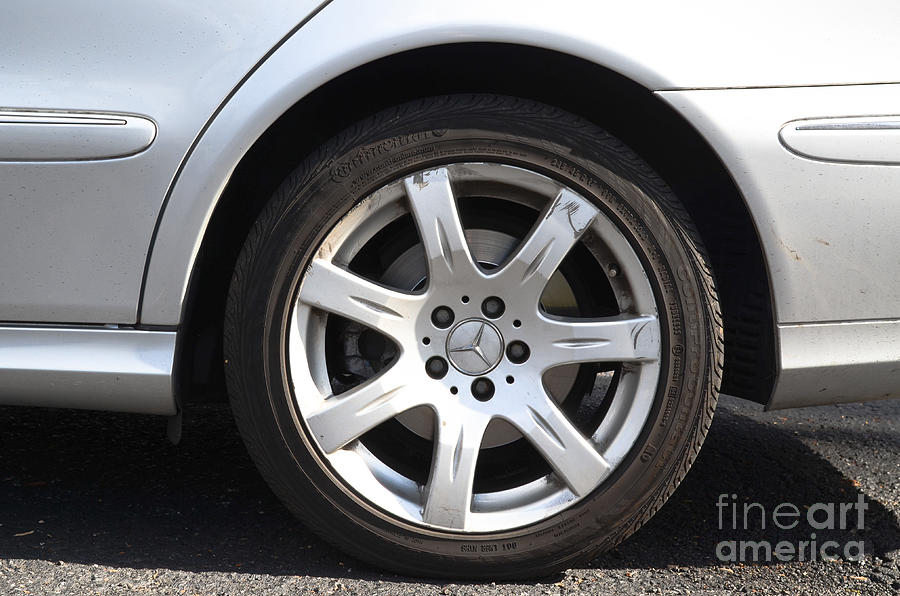 Car Wheel Photograph  - Car Wheel Fine Art Print