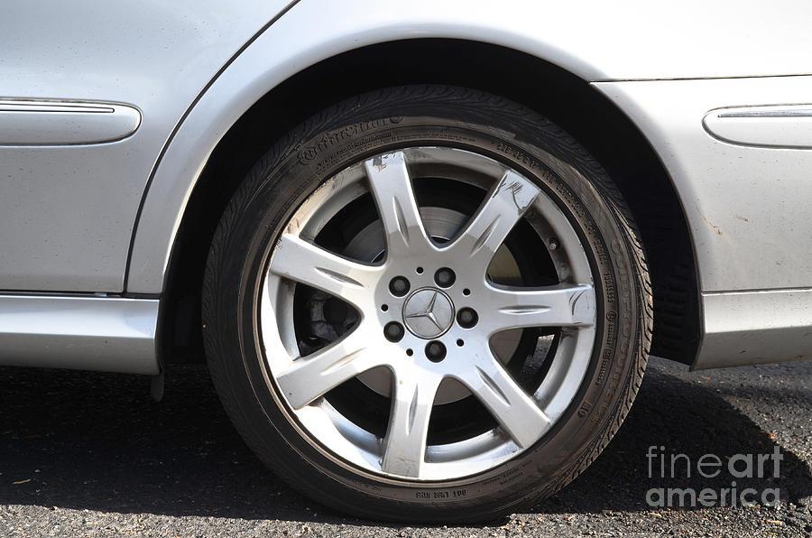 Car Wheel Photograph