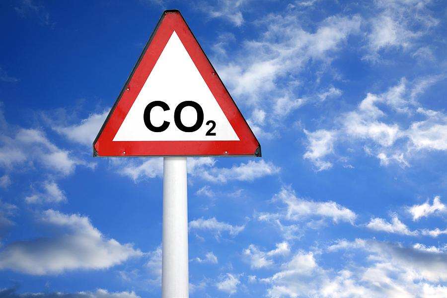 Carbon Dioxide And Global Warming Photograph
