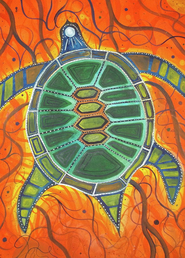 Caretta Caretta Painting