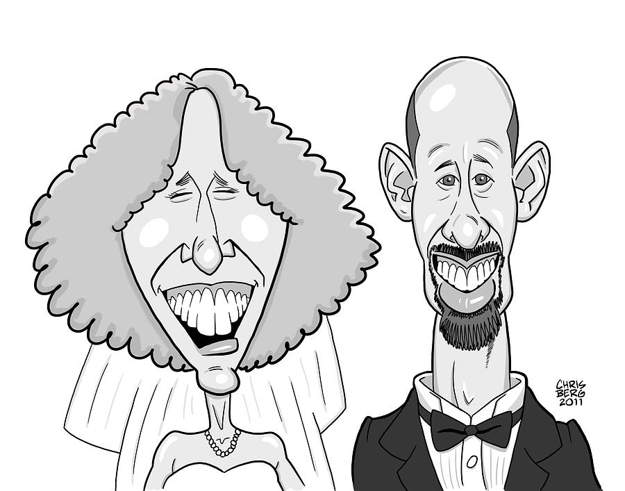 Caricature For Will Digital Art  - Caricature For Will Fine Art Print