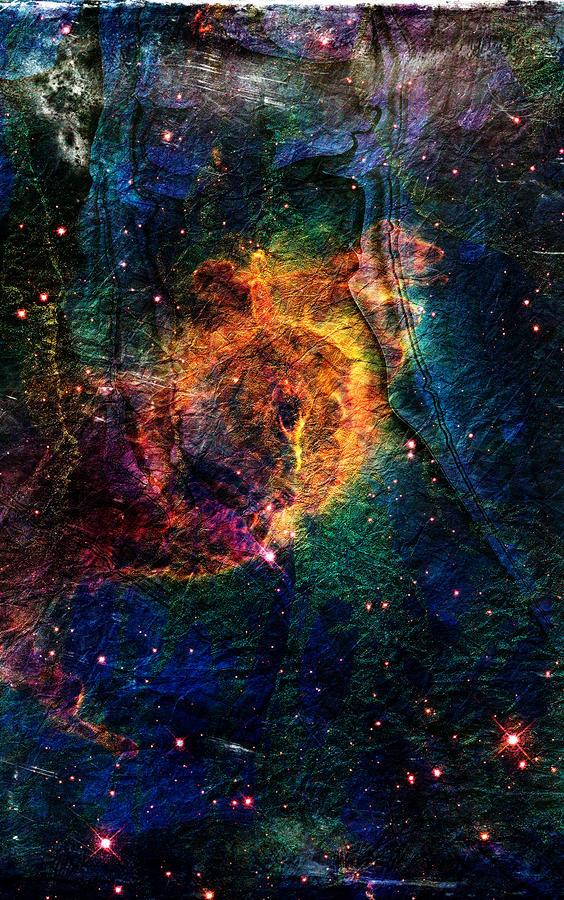 Carina Nebula Digital Art