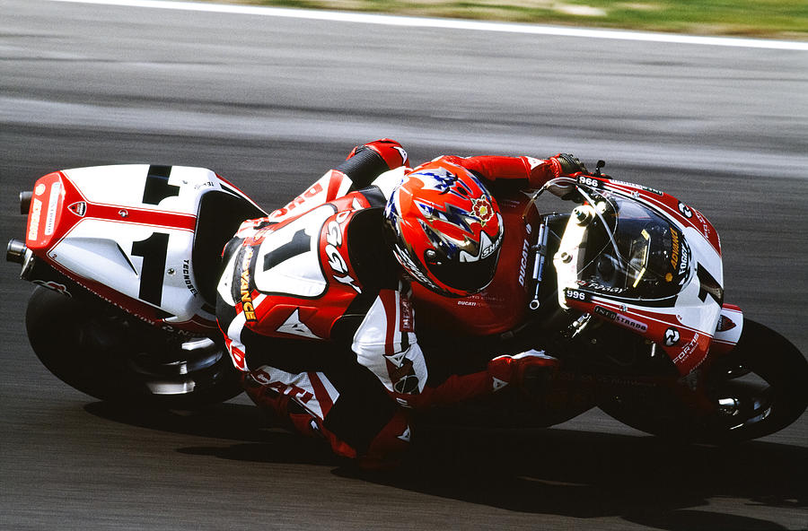 Bike Picture Of The Day Carl Fogarty On The 996 Ducati