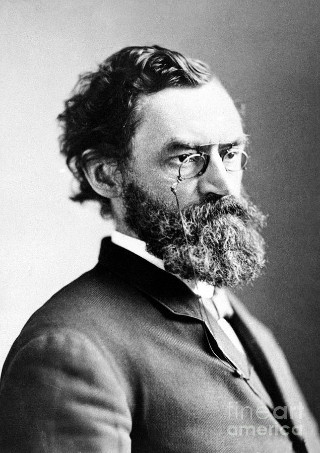 19th Century Photograph - Carl Schurz (1829-1906) by Granger
