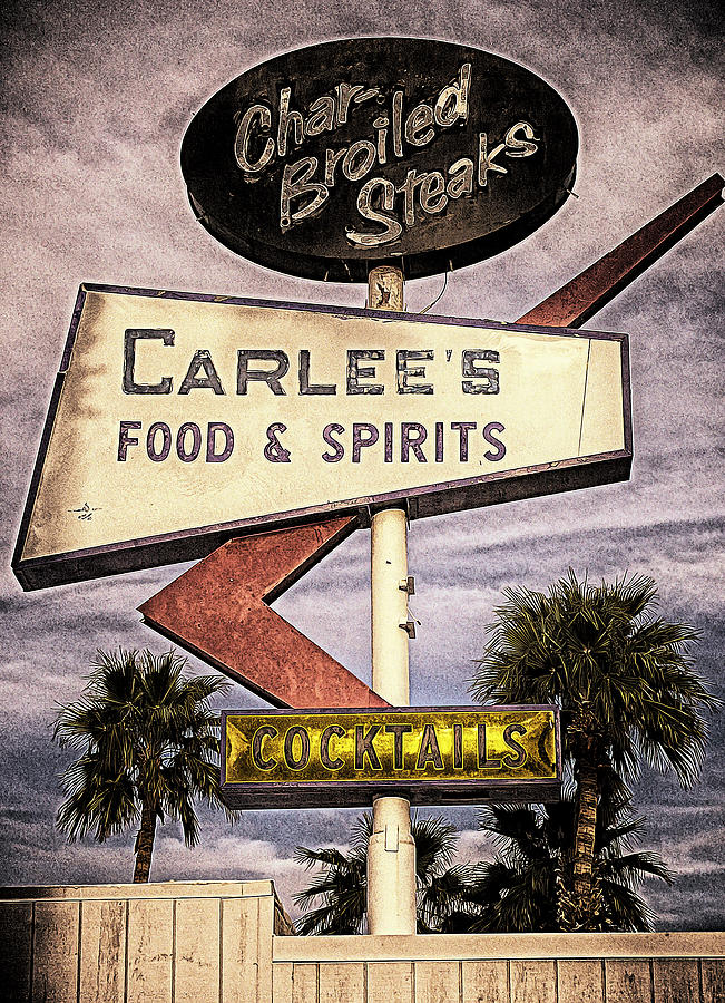 Carlees Food And Spirits Photograph  - Carlees Food And Spirits Fine Art Print