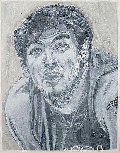 Carlos Delfino Drawing