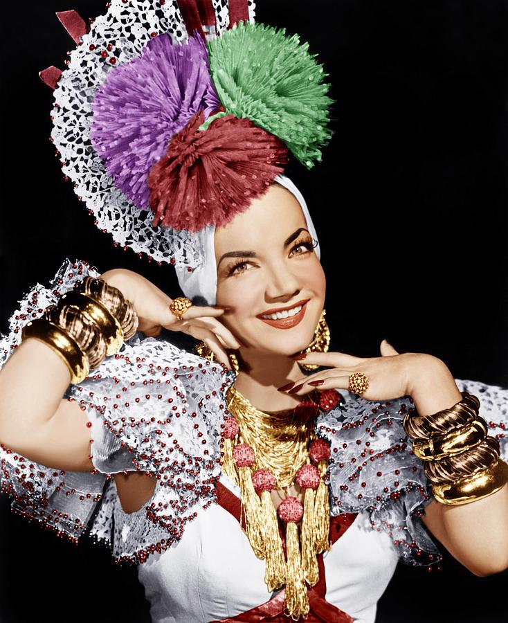 Carmen Miranda, Ca. 1940s Photograph