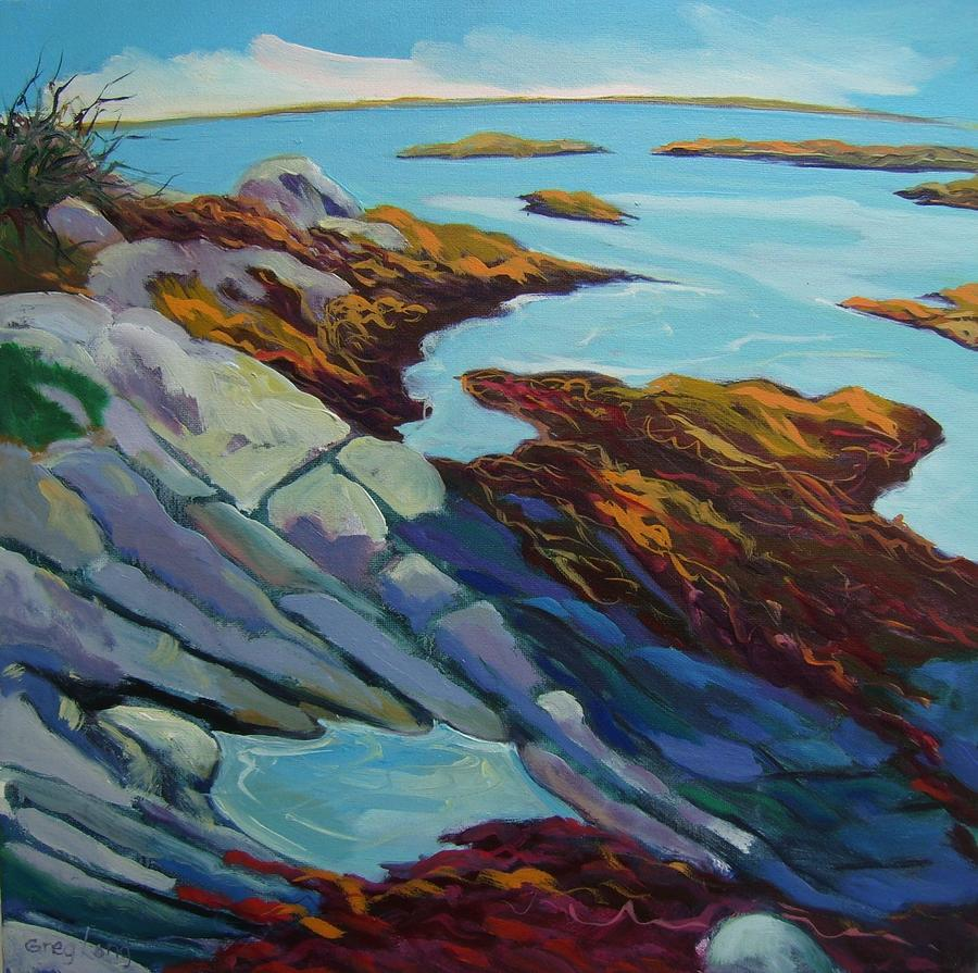 Carna Bay Connemara Painting  - Carna Bay Connemara Fine Art Print