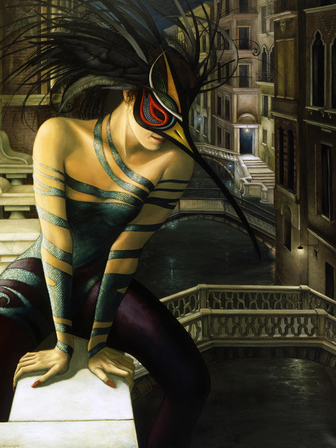 Carnavale Venezia Painting
