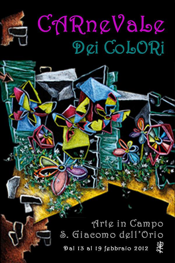 Spritz Painting - Carnevale Dei Colori - Venezia by Arte Venezia