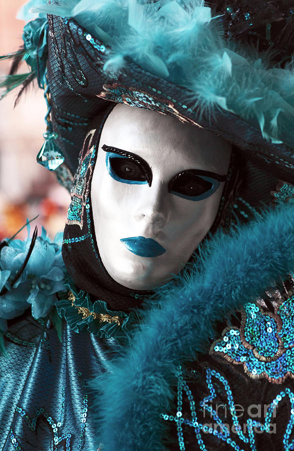 Carnival Blues Photograph  - Carnival Blues Fine Art Print