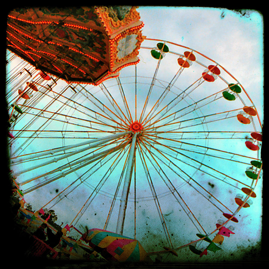 Carnival Colors Photograph  - Carnival Colors Fine Art Print