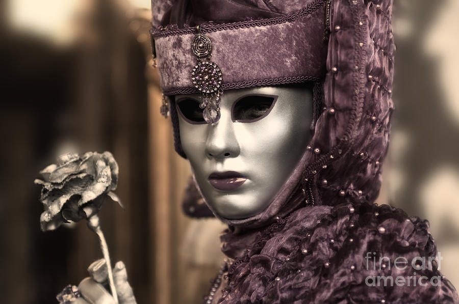 Carnival In Venice 19 Photograph  - Carnival In Venice 19 Fine Art Print